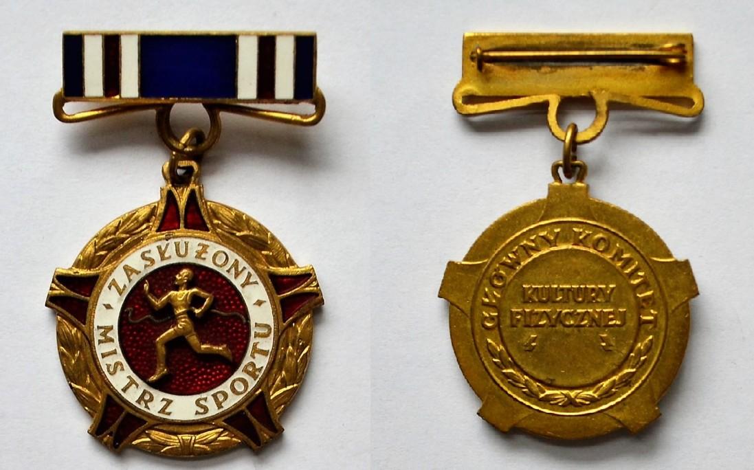 RN/367 – Odznaka Zbigniewa Orywała: Zasłużony Mistrz Sportu (sygn. MRW-RN/367).